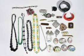 Vintage Signed Costume Jewelry Grouping