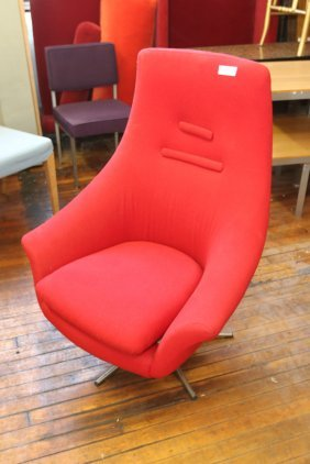 Attr. To Jacobsen Lounge Chair & Ottoman