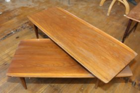 Danish Style Swing Shelf Coffee Table.