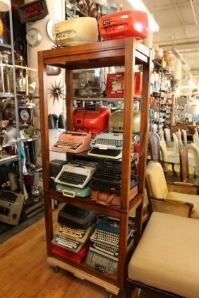 Grouping Of Portable Typewriters Inc, Consul,