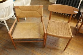 (2) Danish Chairs