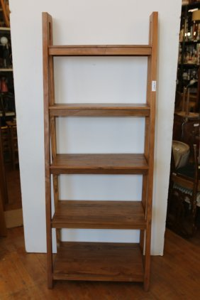 Graduated Wooden Etagere
