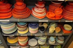 Grouping Of Fiesta Porcelain, Etc.