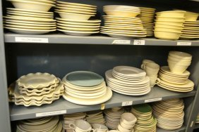 Grouping Of Stoneware And Porcelain Chargers And