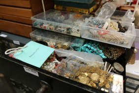Large Grouping Of Costume Jewelry Incl Turquoise
