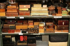 Collection Of Vintage And Contemporary Wood