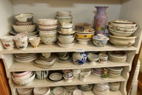 Grouping Of Misc French Porcelain.