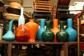 Grouping Of Assorted Glass And Ceramic.