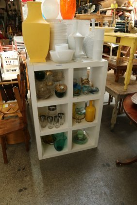 Collection Of Vintage And Contemporary Glass And