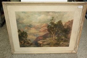 Thomas Moran Grand Canyon Engraving