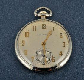 Vacheron & Constantin White Gold Pocket Watch