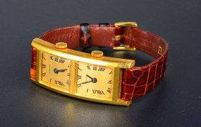 Gold Dual Zone Lady's Wristwatch