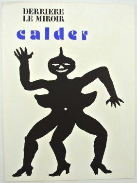 41 alexander calder galerie maeght poster stabiles lot 41 for Calder derriere le miroir