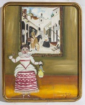 Agapito Labios (1898-1996) Oil