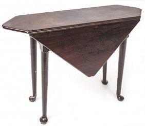 American Queen Anne Handkerchief Table
