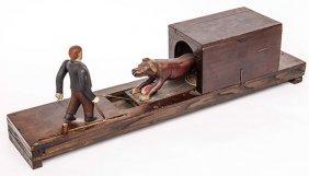 Outstanding Folk Art Mechanical Toy