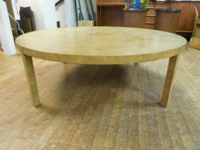 Mastercraft Burled Wood Lounge Table