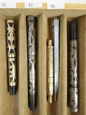Lot 2 Fountain Pens Waterman Etc