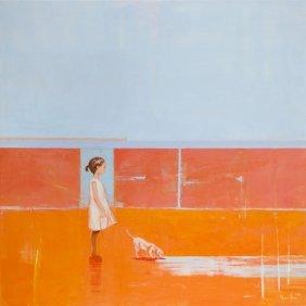 Ilona Herc (b. 1972) The Presence, 2016, Acrylic On