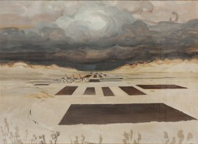 Rafal Malczewski (1892 - 1965) Before The Storm,