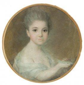 Jan Piotr Norblin De La Gourdaine (attributed) Portrait
