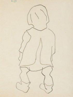 Wladyslaw Strzeminski (1893 - 1952) Standing Child Seen
