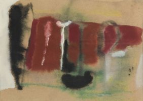 Teresa Pagowska (1926 - 2007) Abstract Composition,