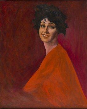 Adam Styka (1890 - 1959), Portrait Of Wanda, Artist's