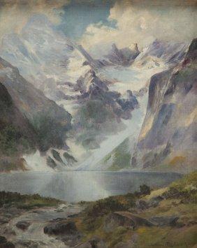Waclaw Maslowski (1887 - 1943), Morskie Oko Lake, Oil