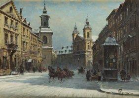 Wladyslaw Chmielinski (1911 - 1979), Freta Street In