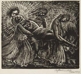 Stefan Mrozewski (1894 - 1975) The Entombment Of