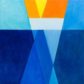 Aleksandra Mysiorska (b. 1985) Kissamos Bay. Sunset,
