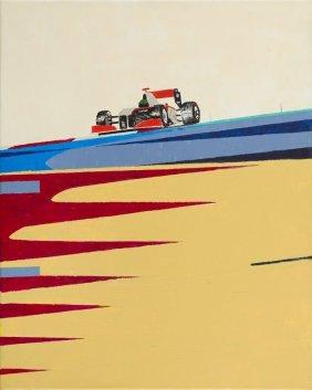 Karol A. Wilk (b. 1983) To Pursuit, 2012, Acrylic On