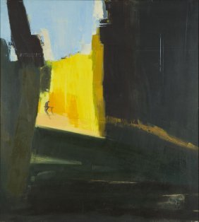Katarzyna Golebiowska (b. 1982) The Bench, 2008, Oil On