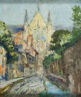 Wlodzimierz Terlikowski (1873 - 1951), Landscape With A