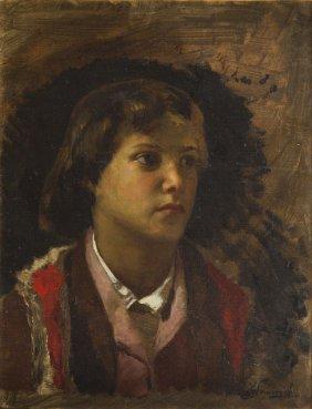 Henryk Siemiradzki (1843 - 1902), Young Highlander From