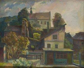 Antoni Michalak (1899 - 1975), Landscape Of Reformed