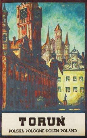 Stefan Norblin (1892 - 1952) Torun, 1930; Rotogravure