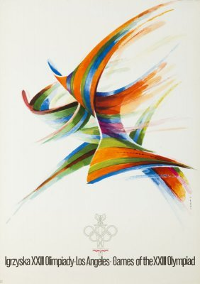Karol Sliwka (b. 1932) Games Of The Xxiii Olympiad -