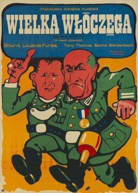 Jakub Erol (b. 1941) Great Vagabond, 1972; Offset On