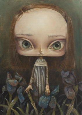 Paulina Gora (b. 1977), Iris, 2015, Oil On Canvas, 70