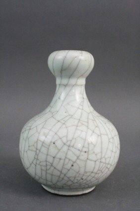 Ge Yao Style Gourd Shape Vase