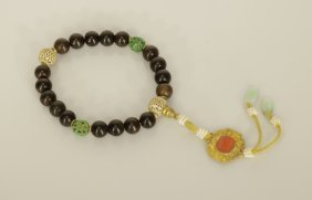 Chinese Chengxiang Beads Bracelet
