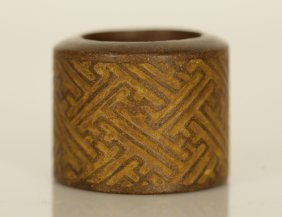 Chinese Chengxiang Thumb Ring