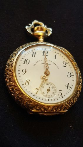 Antique Gold Lady's Pendant Watch