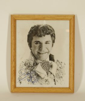 "A Portrait Of ""liberace"" Painist Signed, ""liberace"