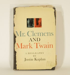 A Book Of Mr. Clemens & Mark Twain