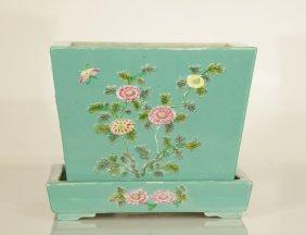 Chinese Porcelain Planter, Qianlong Period