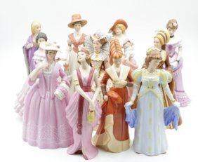 "11 Pieces Of Beautiful Ladies By ""lenox""o-nicole"