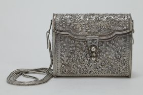 Silver Indian Lady's Purse